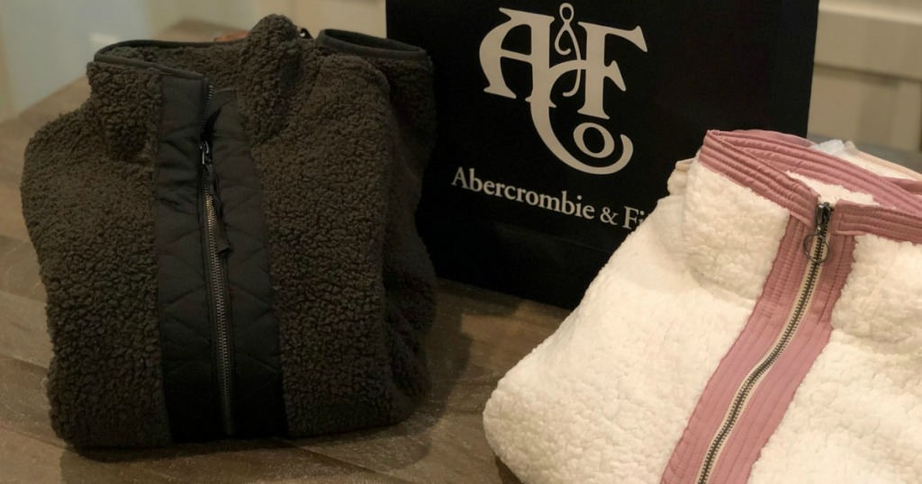 abercrombie fitch sherpas by bag