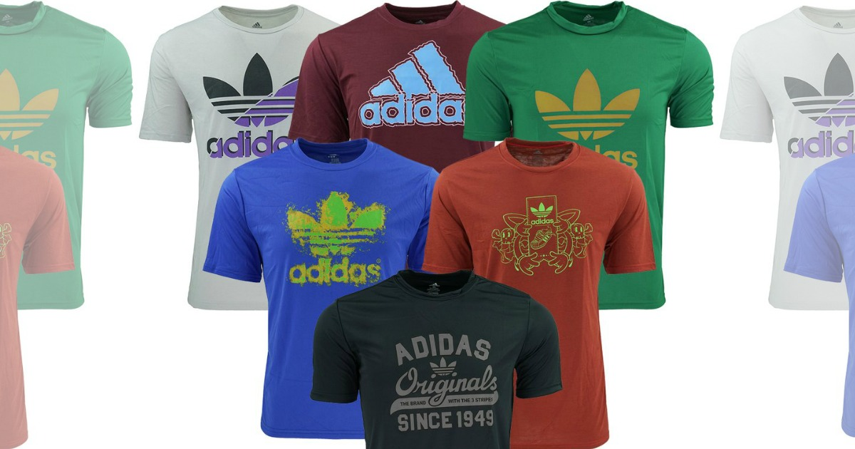 Adidas Men's Graphic T-Shirt 5-Pack Only $35 (Just $7 Per Shirt)
