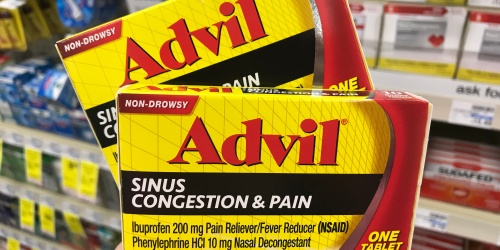 Over $20 Worth of High Value Advil, Robitussin & More Healthcare Coupons