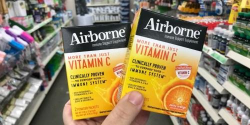 Airborne Vitamin C Powder 2-Pack as Low as FREE at Dollar Tree
