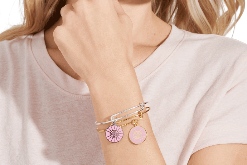 Breast Cancer Awareness Month: Mammograms, signs, ways to give back – Alex and Ani breast cancer bracelet