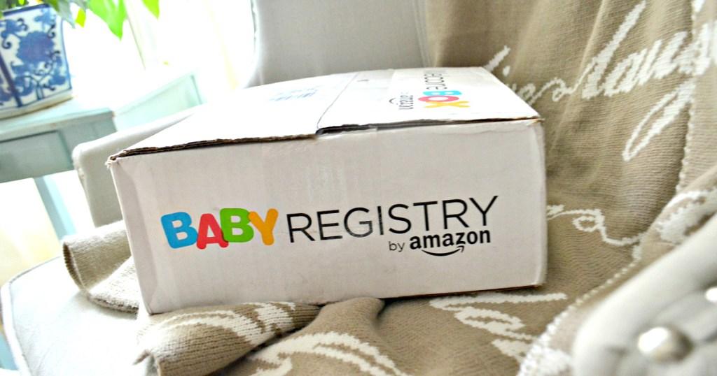 Amazon Baby Registry Box