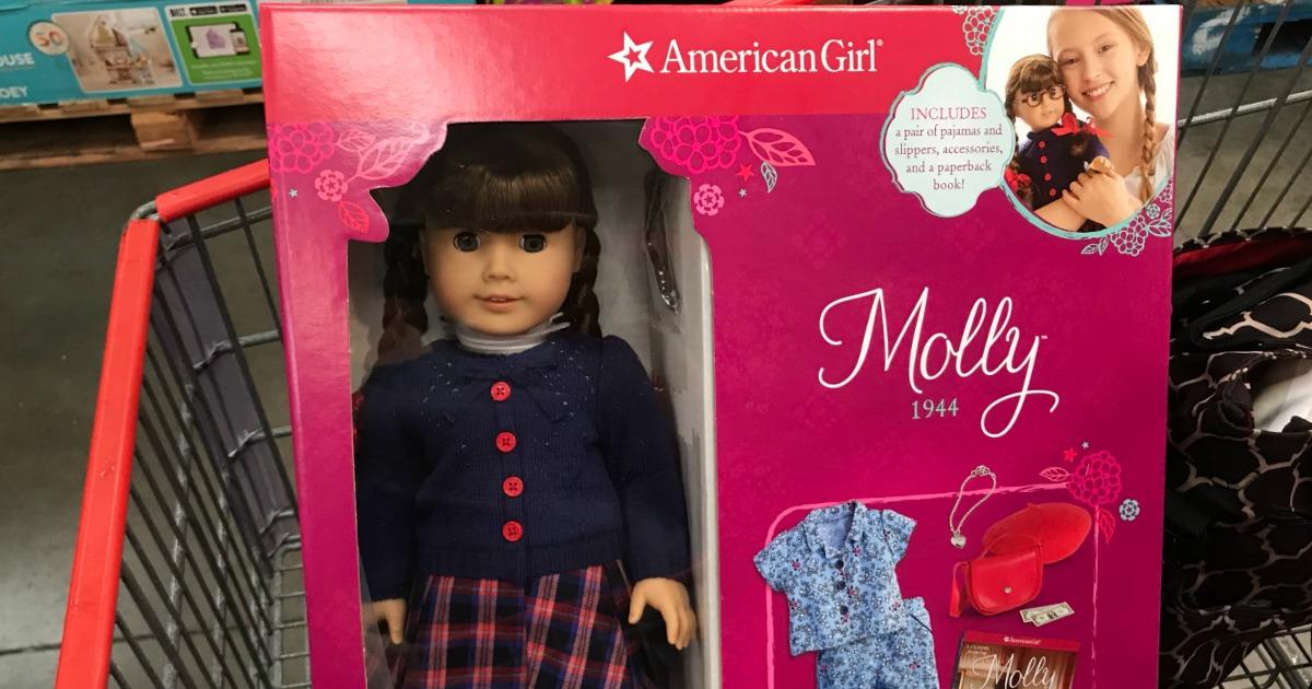 American Girl at Costco