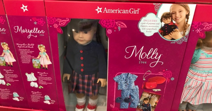 American Girl 18″ Doll w/ Extra Outfit, Accessories AND Book Only $119.99 at Costco Warehouse