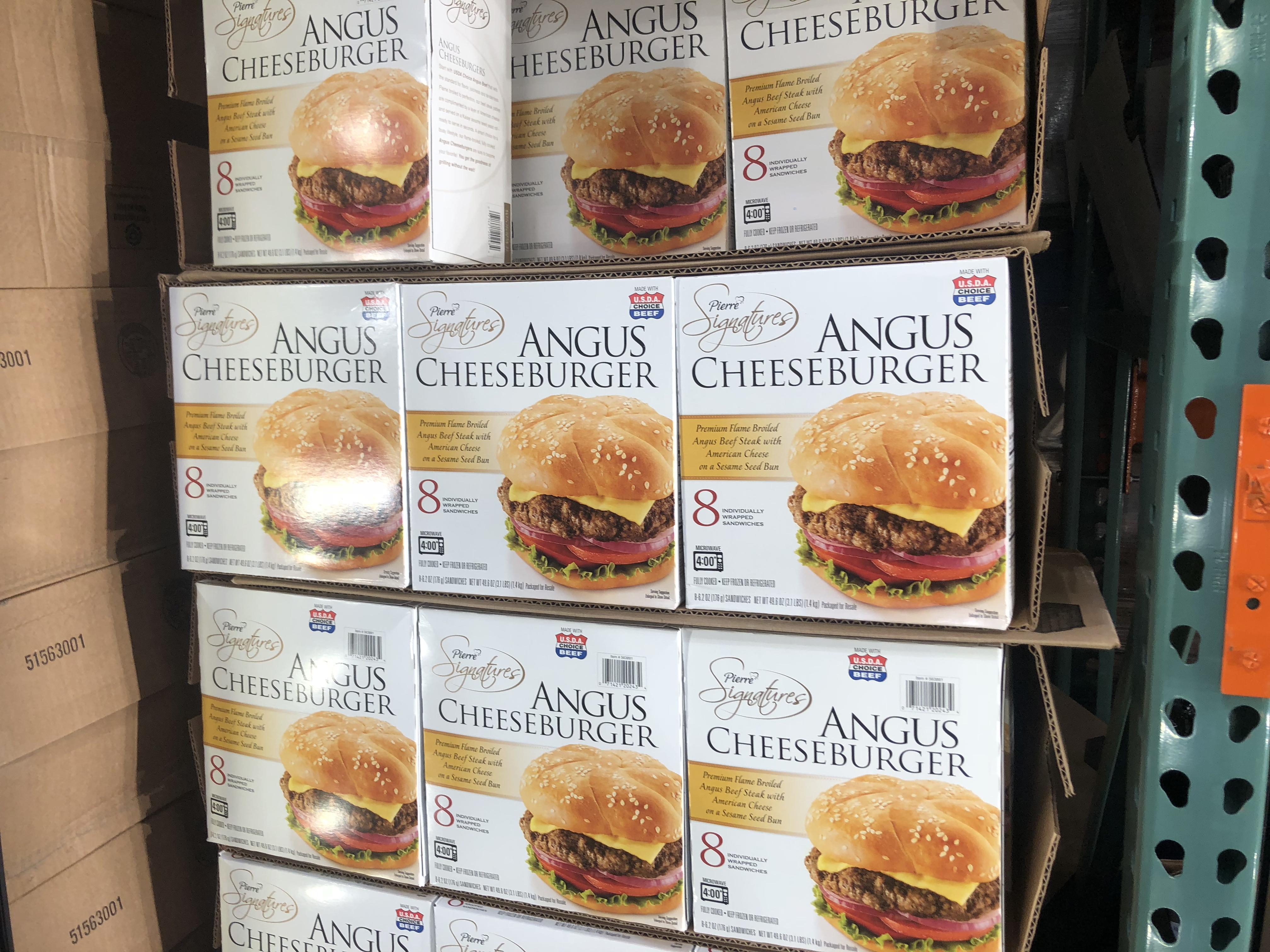 Costco deals October 2018 – Angus cheeseburgers at Costco