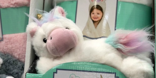 Animal Hugs Hooded Blanket & Plush Toy Set Only $13.99 at Costco (Great Gift Idea)