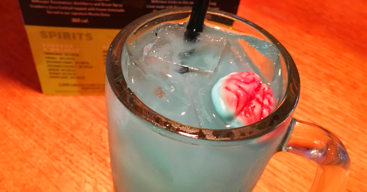 Halloween freebies and deals – applebees zombie drink