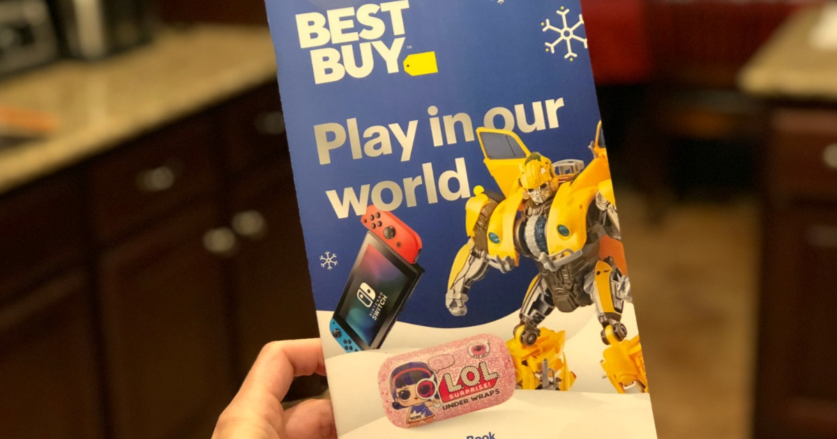 best buy 2018 toy book – The book cover