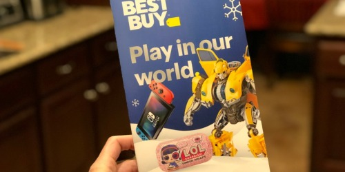 The Best Buy 2018 Toy Book Has Arrived & Includes Coupons (Check Your Mailbox)