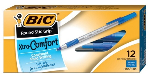 BIC Ballpoint Pens 12-Pack Only $1.30 Shipped + More
