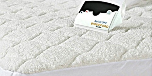 Belk: Biddeford Queen Sherpa Quilted Heated Mattress Pad Only $56.99 Shipped (Regularly $158)