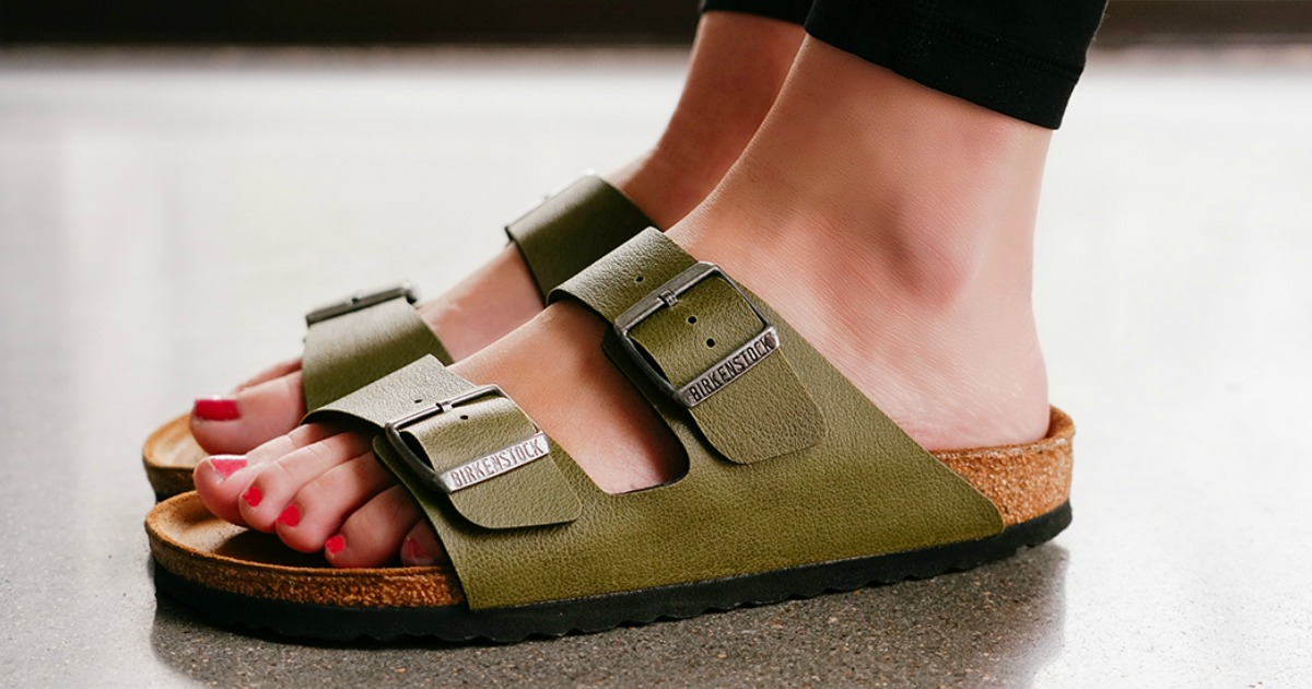 7b37e29f61d Birkenstock Arizona Birko-Flor Sandals Just  56 Shipped (Regularly ...