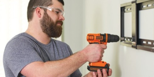 Amazon: BLACK + DECKER Cordless Drill, Battery AND 68 Accessories Only $59.30 Shipped