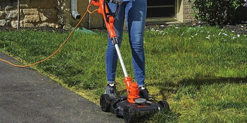 Amazon: Black + Decker Electric Compact Mower, Trimmer AND Edger Only $59.99 Shipped