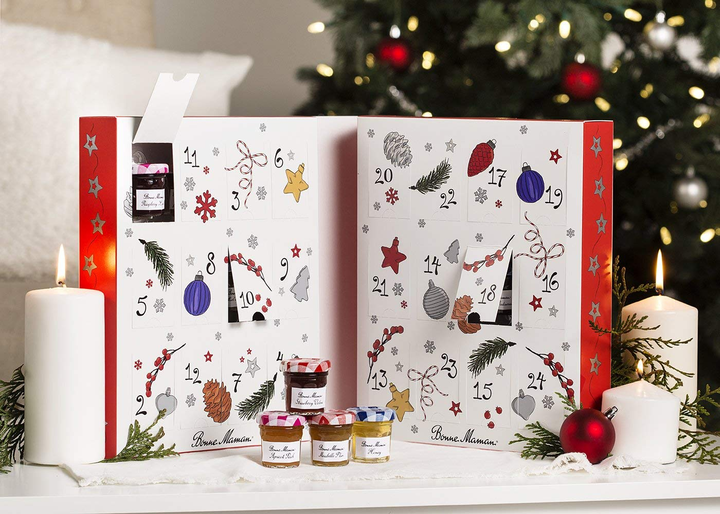 best 2018 advent calendars for kids and adults – Bonne Maman spreads advent calendar