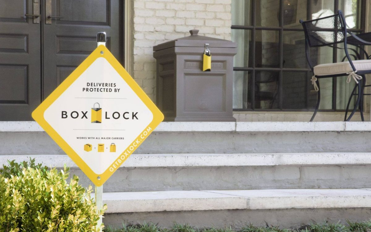 BoxLock with Yard Sign