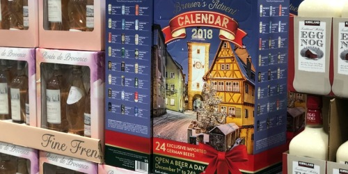 Open a New Beer Daily in December w/ the Brewer's Advent Calendar at Costco