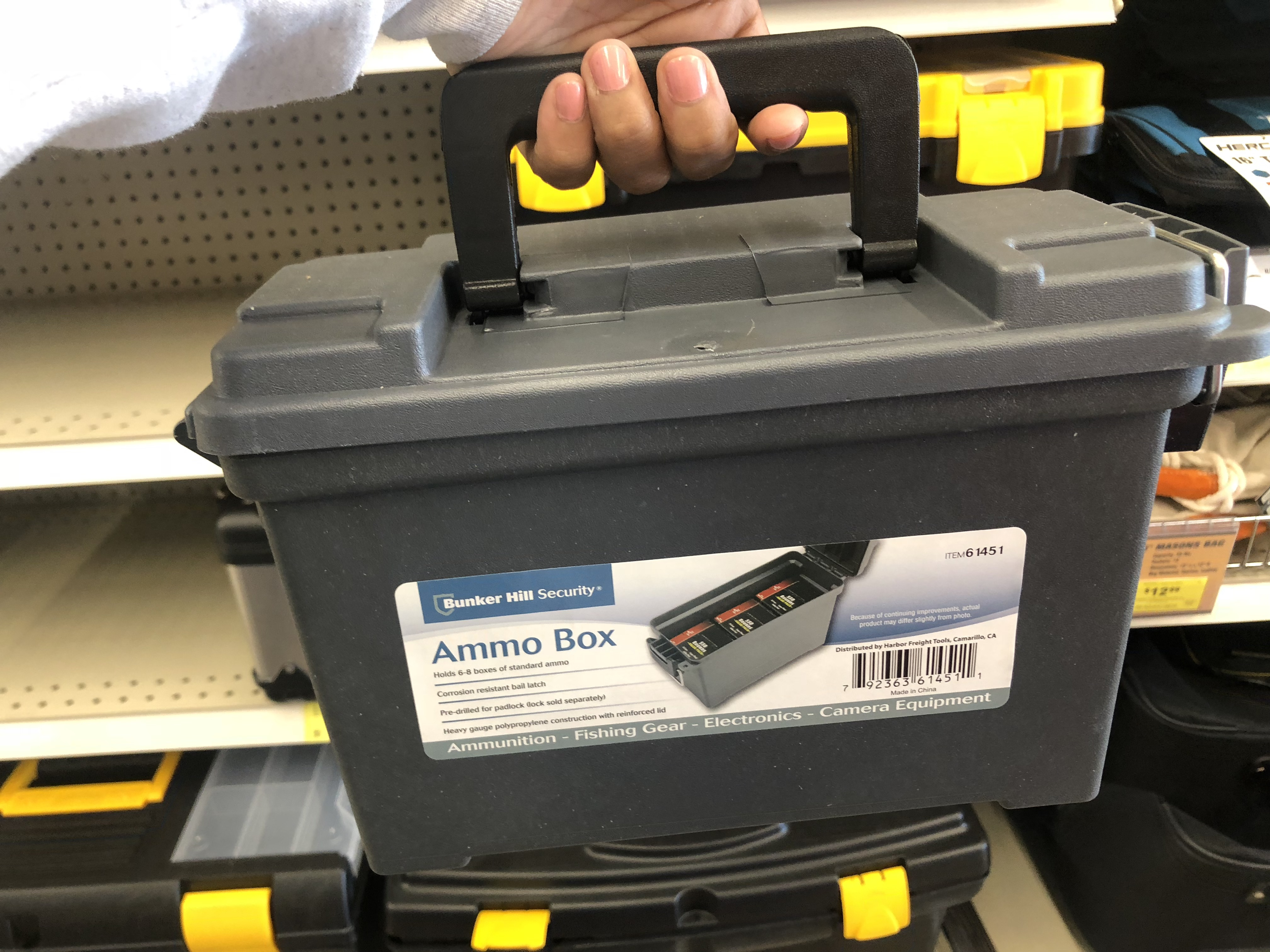 best harbor freight 2018 black friday deals – an ammo box