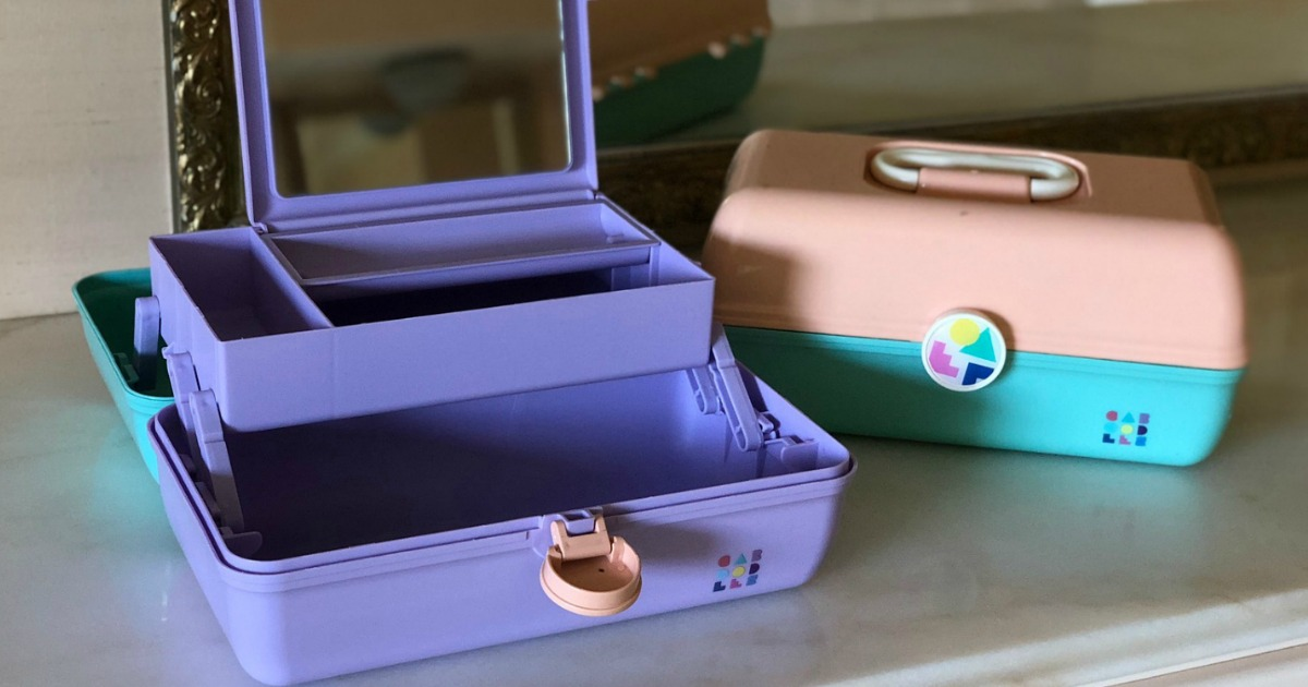 gift guide for the beauty makeup lover — Caboodles makeup organizers