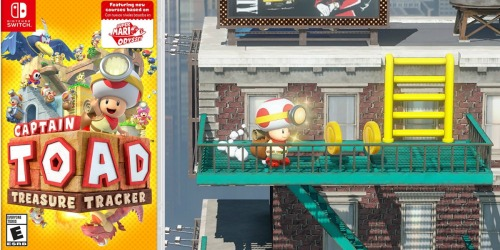 Captain Toad Treasure Tracker Nintendo Switch Game Just $29.99 Shipped (Regularly $40)