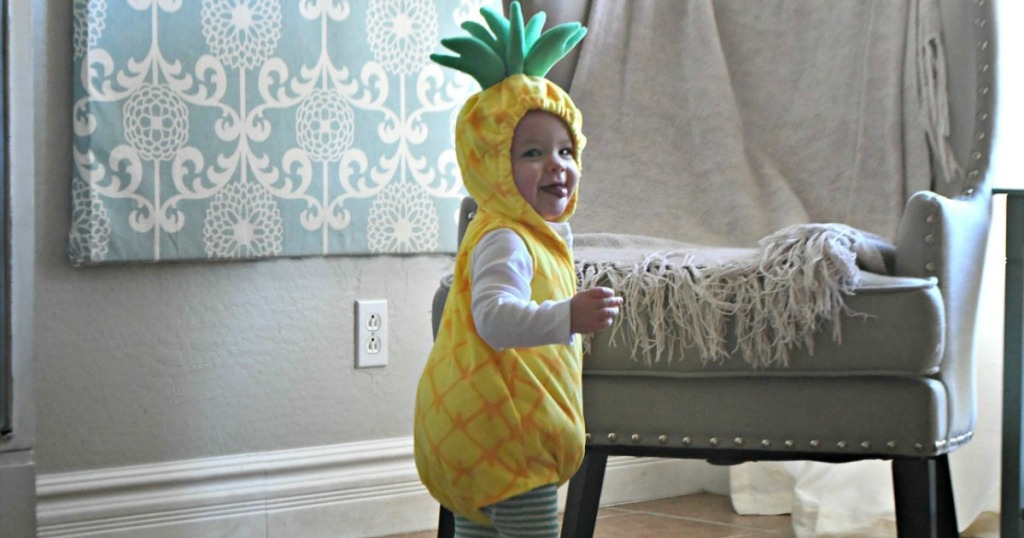baby in Carter Costume Pineapple