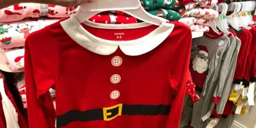 Over 50% Off Carter's Matching Family Christmas Pajamas