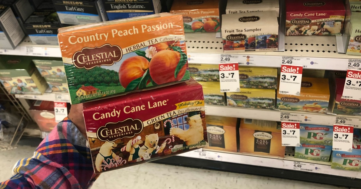 New Celestial Seasonings Coupon Just $2 a Box |Celestial Tea Coupons