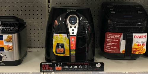 Chefman Digital Air Fryer Possibly Only $39.98 at Target (Regularly $80)