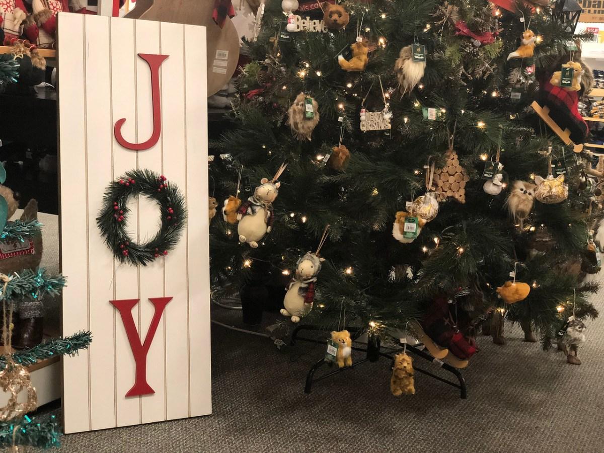 christmas tree at Kohl's