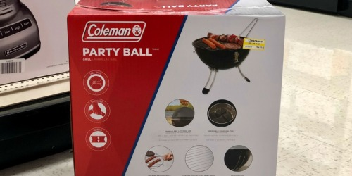 50% Off Coleman Party Ball Grill at Target