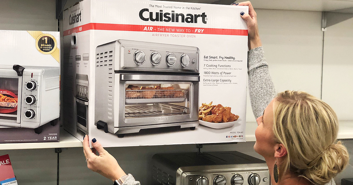 Cuisinart Air Fryer Toaster Oven As Low As 132 99 Shipped