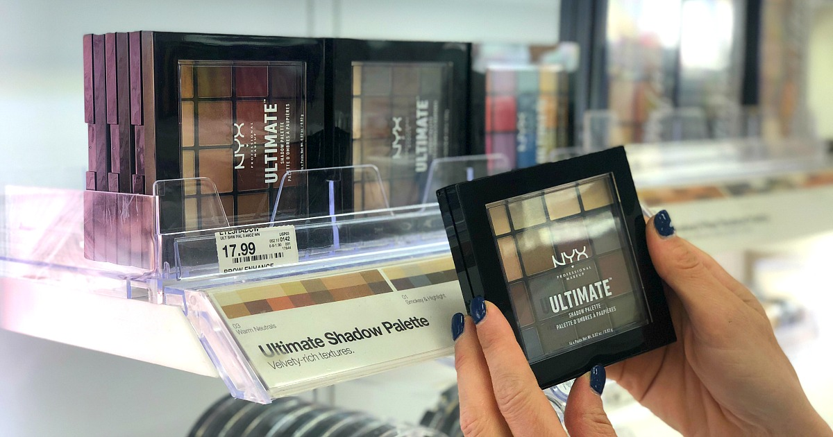 gift guide for the beauty makeup lover — nyx ultimate eyeshadow palette