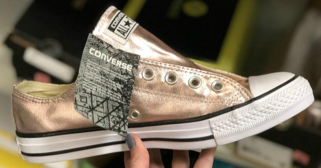 converse metallic clearance