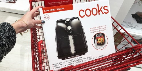 Cooks 2.5L Air Fryer Only $29.99 After JCPenney Rebate (Regularly $140)