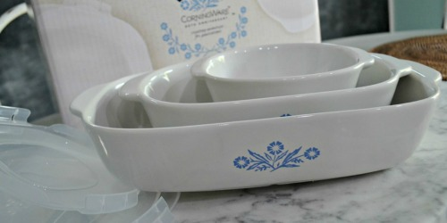Corningware Cornflower 6-Piece Set Just $39.99 (Regularly $84) at Macys.com + More