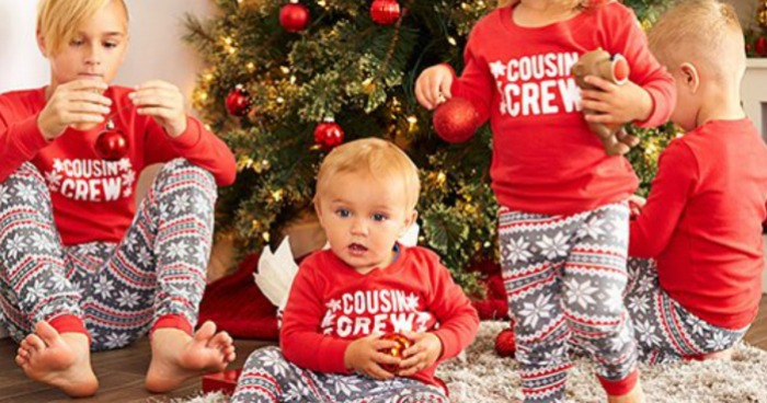 3685e7b1b Today, October 9th only, hop on over to Zulily and score up to 60% off  matching family pajamas!
