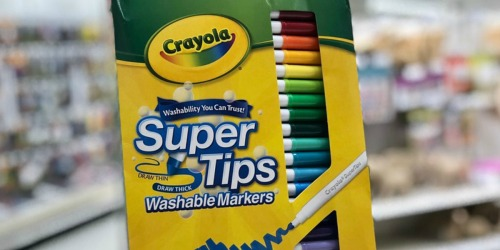 Crayola 20-Count Washable Markers Only $2.60 Shipped & More