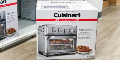 Cuisinart Air Fryer Toaster Oven as Low as $118.99 Shipped (Regularly $250) + Get $20 Kohl's Cash