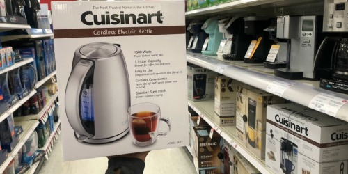 Cuisinart PerfecTemp Cordless Electric Kettle Only $60.83 Shipped (Regularly $100)