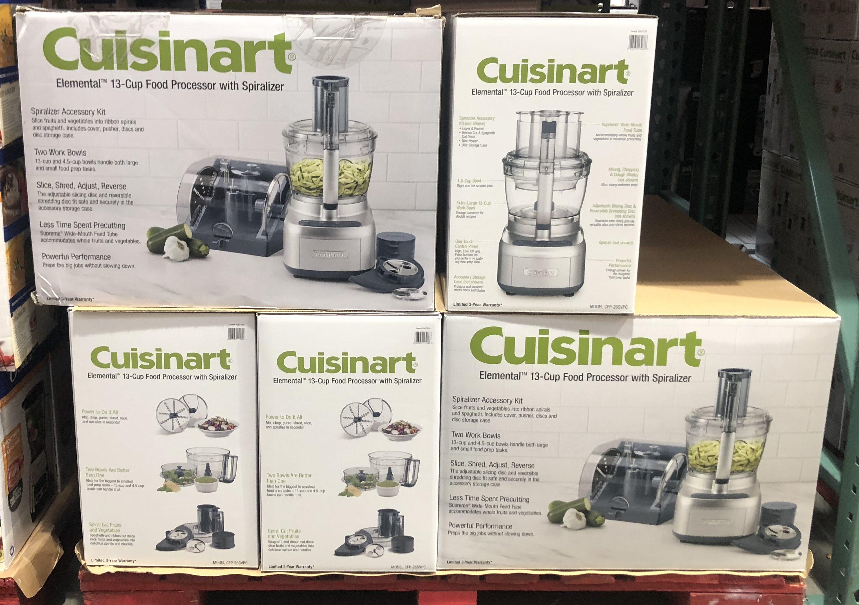 Costco deals October 2018 – Cuisinart Food Processor at Costco