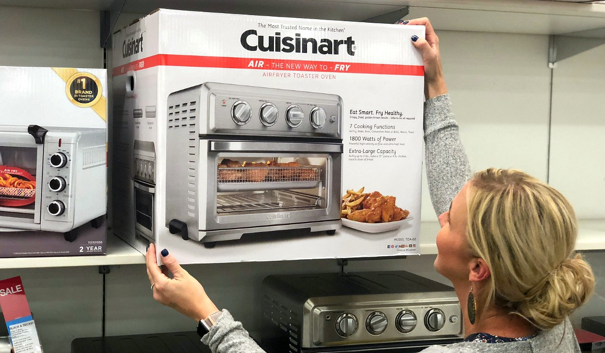 gift guide for chefs and cooks — cuisinart multi use toaster oven air fryer appliance