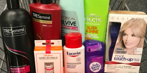 L'Oreal, Garnier Fructis & Sally Hansen Products UNDER 50¢ Each at CVS (Starting 10/7)