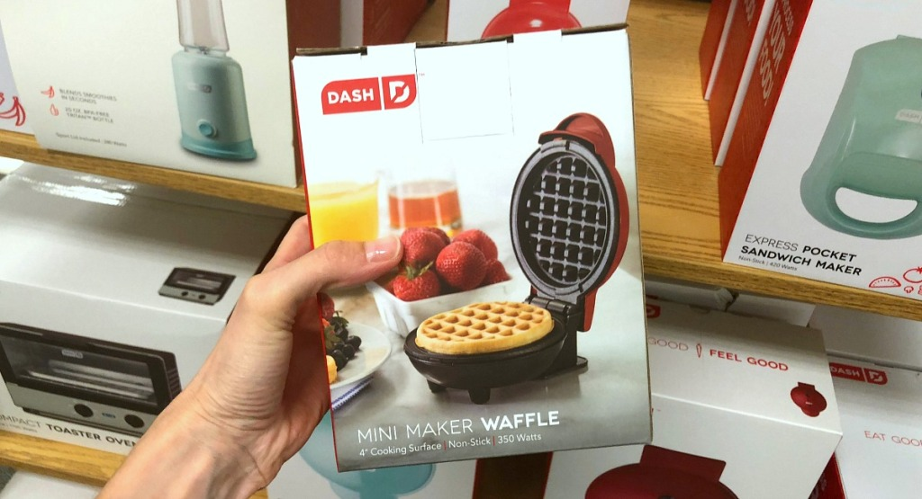 gift guide for cooks and chefs — dash mini waffle maker