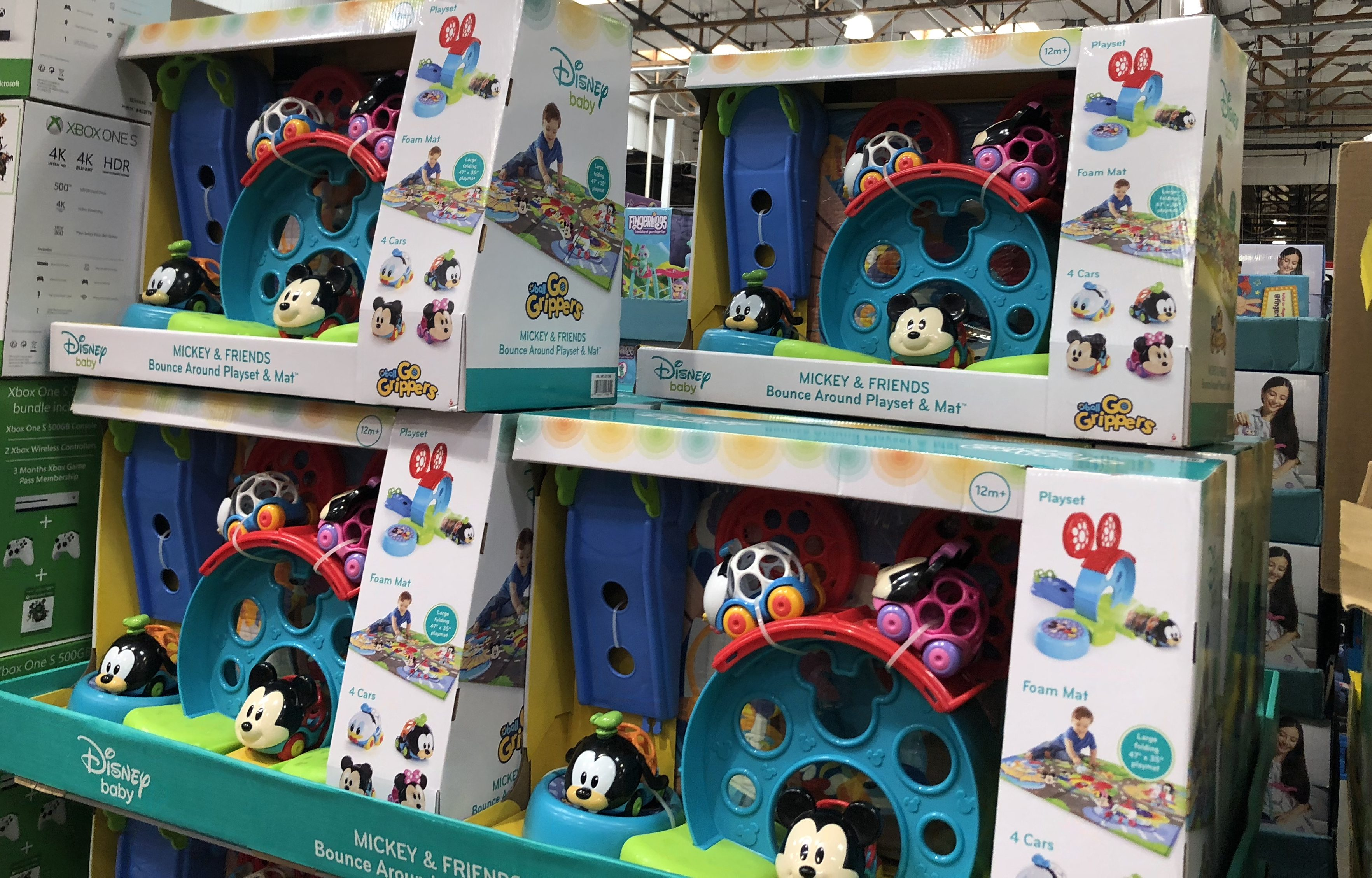 The best holiday toy deals for 2018 include the Disney Baby Playset and Mat at Costco