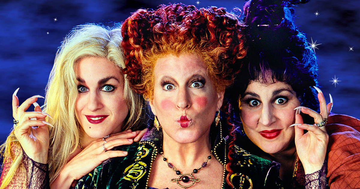 Disney Hocus Pocus 25th Annniversary in theatres – image of the three starring actresses