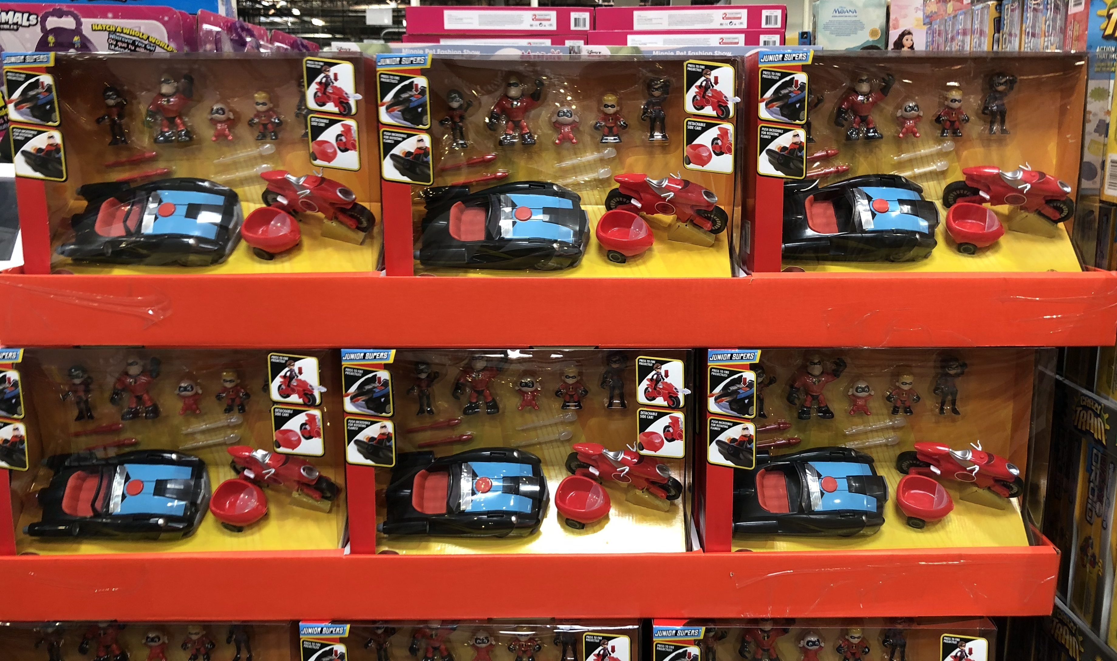 The best holiday toy deals for 2018 include Disney Pixar Incredibles 2 Family & Vehicle Sets at Costco