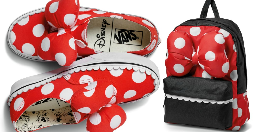 8819d7912de Vans Launches NEW 90th Anniversary Mickey Mouse Collection (Starting ...