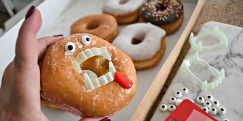 DIY Spooky Vampire Donuts (5-Minute Halloween Treat Idea)