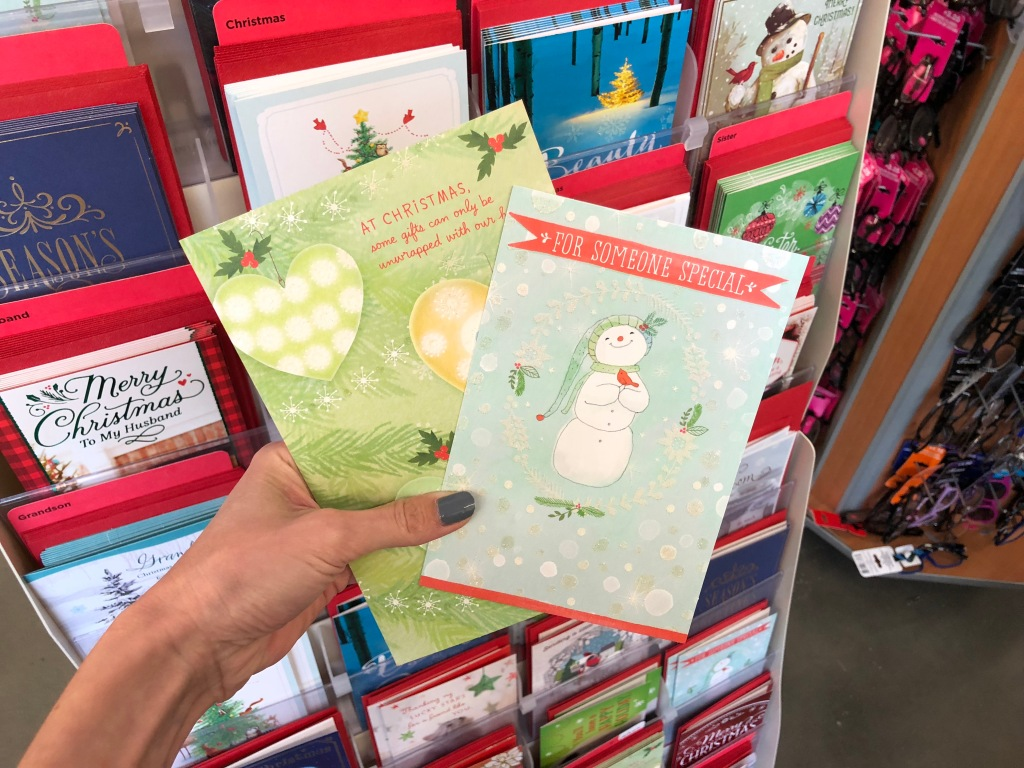 Christmas Cards Only 50¢ at Dollar Tree & More | Hip2Save