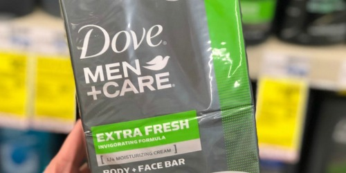 Amazon Prime: Dove Men+Care Body & Face Bars 20-Pack Only $12 Shipped (Just 61¢ Per Bar)